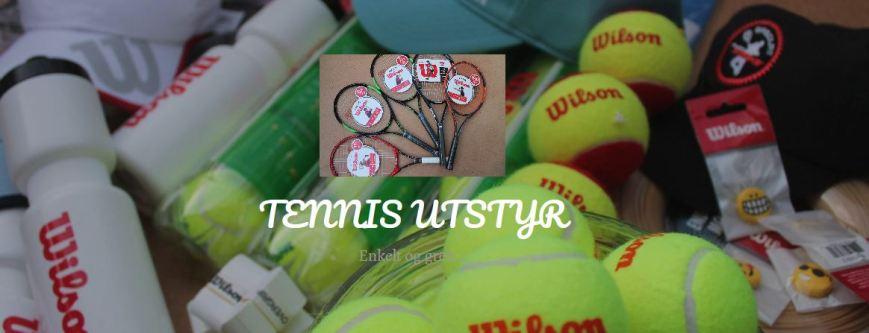 Tennis utstyr forside