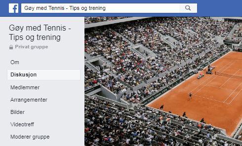 Gøy med Tennis -Tips og trening