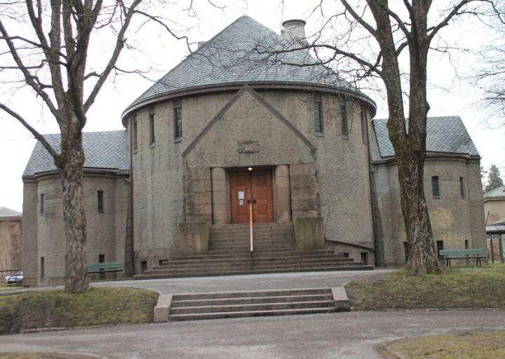 Vestre gravlund gamle kapell